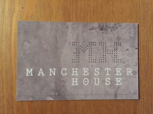 Manchester House business card