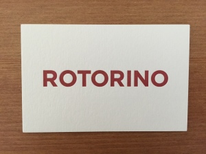 Rotorino business card