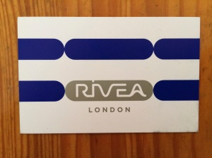 Rivea business card