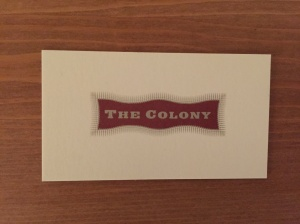 The Colony Grill