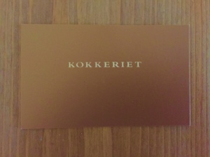 Kokkeriet business card