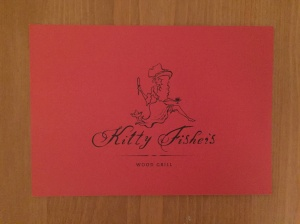 Kkitty Fisher's business card
