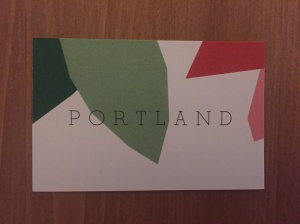 Portland business card