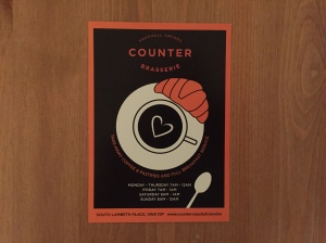 The Counter business card