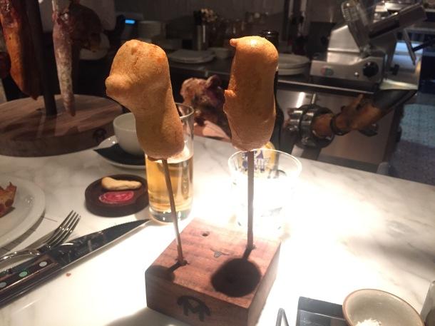 Chorizo fritter
