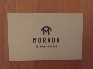 Morada business card