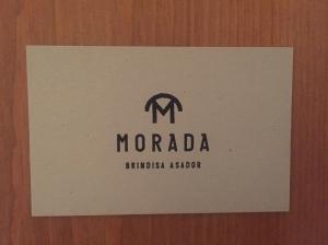 Morada business card