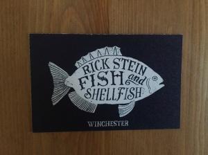 Rick Stein's business card