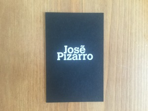 José Pizarro business card