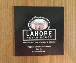 Lahore business card