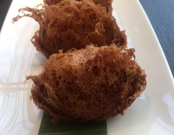 Taro croquettes