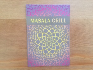 Masala Grill business card