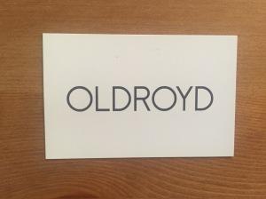 Oldroyd's business card