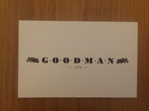 Goodman City business card