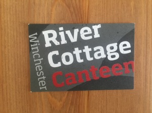 River Cottage Canteen business card