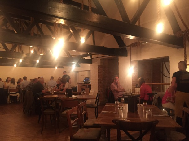 Inside River Cottage Canteen